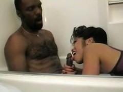 Cumisha Amado loves long and fat black cocks, but enjoys them quite...