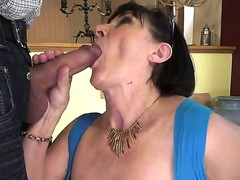 Margo T. plays with hard pole